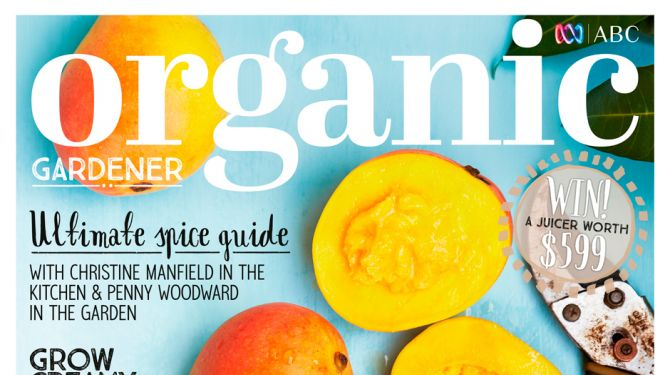 ABC Organic Gardener Magazine January/February 2016