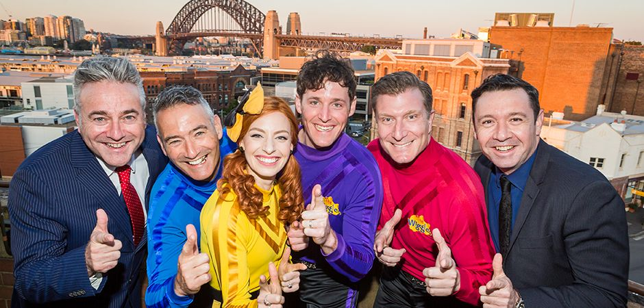 Paul Field, The-Wiggles and Robert Patterson - Credit: Jacquie Manning
